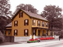 Edison Boarding House Stock Photo
