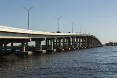 Edison Bridge in Fort Myers, Southwest Florida Stock Photo