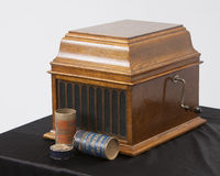 Edison gramofon Fotografia Stock