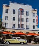Edison Hotel Miami Beach Royalty Free Stock Photos