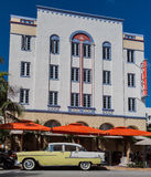Edison Hotel Miami Beach Florida Stock Photos