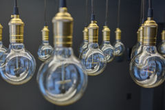Edison lamps Royalty Free Stock Photography