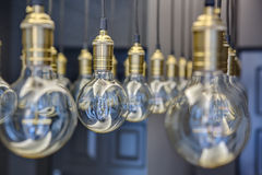 Edison lamps Royalty Free Stock Photos