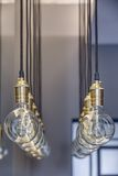Edison lamps Royalty Free Stock Images