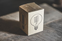 Edison Light Box Stock Photos