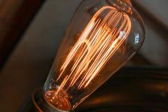 Edison light bulb Stock Image