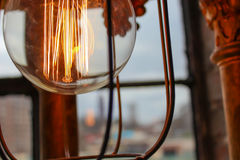 Edison light bulbs Stock Images
