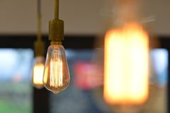Edison Light royaltyfri fotografi