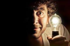 Edison Lightbulb royaltyfri foto