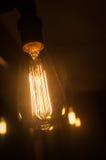 Edison Lightbulb Fotografie Stock
