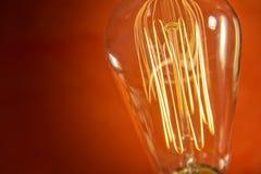 Edison Lightbulb Stock Photo