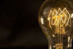 Edison Lightbulb Royalty Free Stock Photo