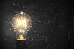 Edison Lightbulb Stock Image
