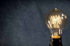 Edison Lightbulb Stock Photos
