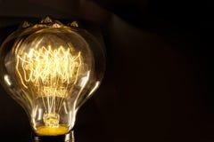 Edison Lightbulb Stock Image