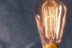 Edison Lightbulb Royalty Free Stock Photo
