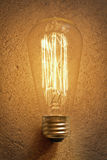 Edison Lightbulb Royalty Free Stock Photography