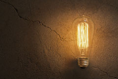 Edison Lightbulb Stock Photography