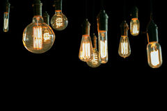 Edison Lightbulbs Royaltyfria Bilder