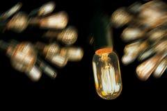 Edison Lightbulbs Στοκ Εικόνες