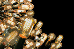Edison Lightbulbs Royaltyfria Foton