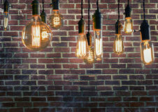 Edison Lightbulbs Royalty Free Stock Images