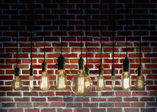Edison Lightbulbs Royalty Free Stock Images