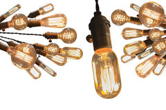 Edison Lightbulbs Stock Image