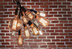 Edison Lightbulbs Royalty Free Stock Image