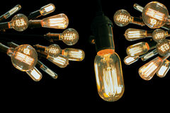 Edison Lightbulbs Royalty Free Stock Photography