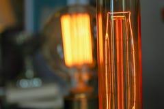 Edison ljusa kulor Royaltyfri Bild