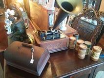 Edison skivspelare Arkivfoton