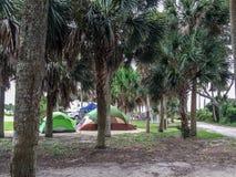 Edisto Beach State Park. Campground at Edisto Beach State Park, SC Royalty Free Stock Photos