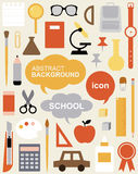 Edit Icon Set - Education Stock Photo