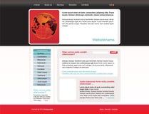 editable Ιστός προτύπων περιοχών Στοκ Εικόνα