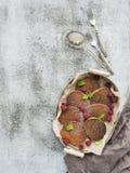 editable στρώματα κλίσεων προγευμάτων έργου τέχνης κανένα σύνολο χρησιμοποιούμενο Σπιτικές τηγανίτες φαγόπυρου με Στοκ εικόνα με δικαίωμα ελεύθερης χρήσης