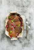 editable στρώματα κλίσεων προγευμάτων έργου τέχνης κανένα σύνολο χρησιμοποιούμενο Σπιτικές τηγανίτες φαγόπυρου με Στοκ φωτογραφίες με δικαίωμα ελεύθερης χρήσης