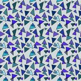 editable τρίγωνα προτύπων δαντελλών σχεδίου ανασκόπησης Στοκ εικόνες με δικαίωμα ελεύθερης χρήσης