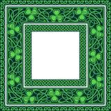 Editable кельтские границы Стоковое Изображение RF