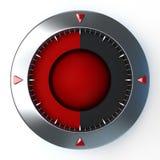 Editable компас шкалы Стоковые Фотографии RF