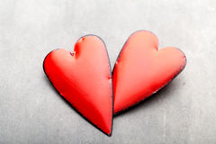 Editable Abbildung Greating Karte des Valentinstags Lizenzfreie Stockbilder
