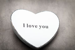 Editable Abbildung Greating Karte des Valentinstags Lizenzfreies Stockbild