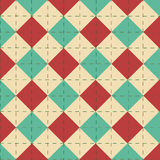 Editable Abstract Geometrical Retro Background Royalty Free Stock Photography
