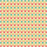 Editable Abstract Geometrical Retro Background Royalty Free Stock Image