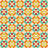 Editable Abstract Geometrical Retro Background Stock Images