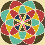 Editable Abstract Geometrical Retro Background Stock Photography