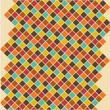 Editable Abstract Geometrical Retro Background Royalty Free Stock Images