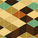 Editable Abstract Geometrical Retro Background Royalty Free Stock Photo