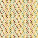 Editable Abstract Geometrical Retro Background Stock Image
