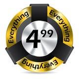 Editable  badge design Stock Image
